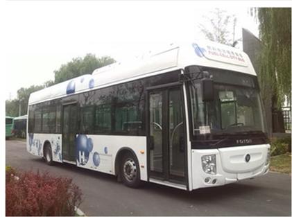 福田欧辉BJ6123FCEVCH公交车(燃料电池10-37座)